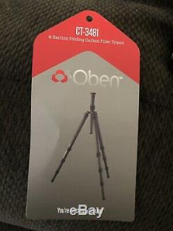 Oben CT-3481 Carbon Fiber Tripod With BE-126T Ball Head Free S/H