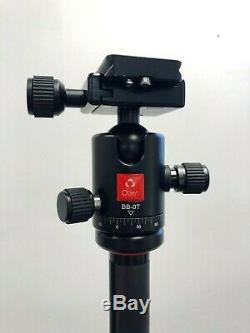 Oben CT-3510 5-Section Carbon Fiber Folding Tripod with BB-0T Ball Head 5 Section