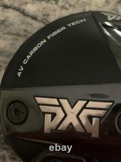 PXG Gen 4 0811X 2021 Driver Head- 10.5 Degrees- AV Carbon Fiber Tech