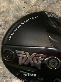 PXG Gen 4 0811X 2021 Driver Head- 9 Degrees- AV Carbon Fiber Tech- Mint