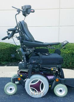 Permobil M300 For A Quadriplegic with Power Tilt, Recline, Legs, and Head Array