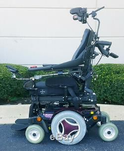 Permobil M300 with Power Tilt Recline Legs and Head Array