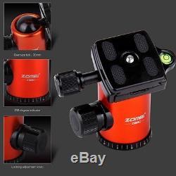 Portable Pro Carbon Fiber Tripod Z888C Travel Monopod&Ball Head for DSLR Camera