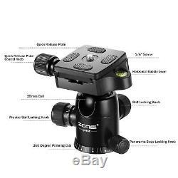 Pro Carbon Fiber Digital Camera Tripod Monopod Ball Head for Travel Canon Camera