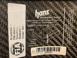 Pro Carbon Fiber Hans Device Head and Neck Restraint