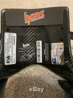 Pro Hans Device Carbon Fiber Head and Neck Restraint System 20L Used Once
