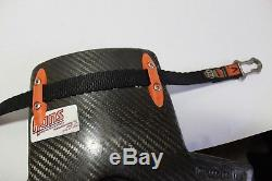 Pro Hans Device Carbon Fiber Head and Neck Restraint System Simpson Hybrid #1
