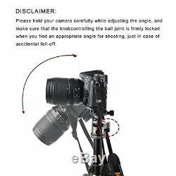 Pro Portable heavy Duty Carbon Fiber Tripod Monopod Ball Head for DSLR Camera