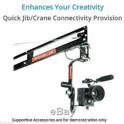 Proaim Jr Pan Tilt Head with 12V Joystick Control Supporting Camera upto 4.5kg