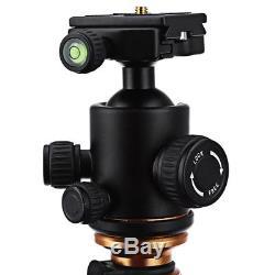 Q999C Pro Tripod Monopod Carbon Fiber Ball Head for Camera DSLR Camcorder