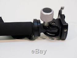 Really Right Stuff MH-01 monopod head & Induro CM 34 Carbon Fiber Monopod