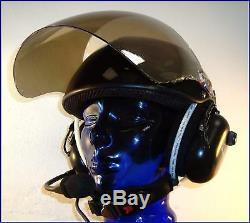 Rosenbaum Aviation Carbon Fiber Helm XL mit integriertem ANR Aviation Headset