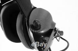 Rugged Radios H41-CF Carbon Fiber Behind The Head Two Way Radio Headset with