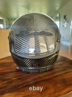 Ruroc Atlas 3.0 Liquid Carbon Motorcycle Helmet Size S