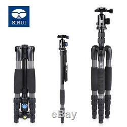 SIRUI A-1205 A1205 Carbon Fiber tripod Flexible Monopod With Y11 Head 5 Section