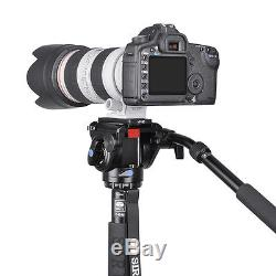 SIRUI P424S Carbon Fiber Monopod Tripod Professional Tripod Camera VH10 Head