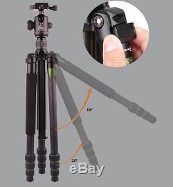 SYS500C Kamera Carbon Fiber Tripod Monopod Stativ BallHead Heavyduty Kohlefaser