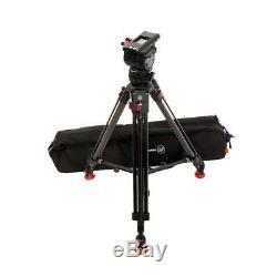 Sachtler 0750 CF Tripod System with FSB8 T Head Speed Lock CF Legs #1092909