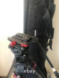 Sachtler 0775 System FSB8 /SL MFC with FSB 8 Fluid Head, Carbon Fiber Tripod Leg