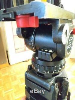 Sachtler 20 video II head with carbon fiber CF tripod