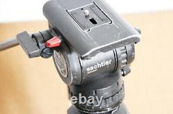 Sachtler DV6 SB Head with DA 75 L Long Tripod Legs Mid Spreader Case
