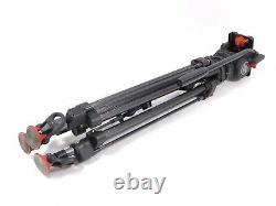 Sachtler DV8SB Head Speed Lock Carbon Fiber Tripod DV 8 SB 75mm