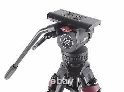 Sachtler DV8 Head Speed Lock Carbon Fiber Tripod DV 8