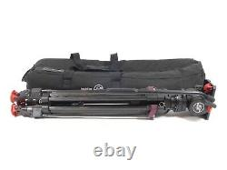 Sachtler DV-6SB DV6 Head Carbon Fiber Tripod Video DV 6 SB 75mm DV6SB Bag