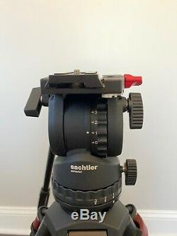 Sachtler FSB4 0307 fluid head with carbon fiber tripod system open box