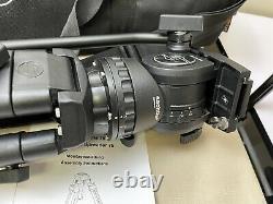 Sachtler FSB4 FSB-4 Fluid Head Carbon Fiber 75 Tripod Kit withStorage Carrying Bag