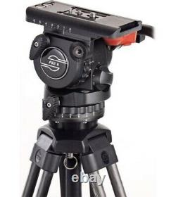Sachtler FSB8 Fluid Head With Speed Lock 75 Carbon Fiber Tripod