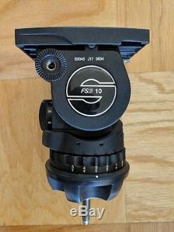 Sachtler FSB 10 Head & Carbon Fiber Tripod (100mm)