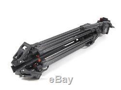 Sachtler FSB-10 Head with Carbon Fiber Tripod FSB10 100mm up tp 26.5lbs