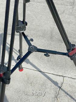 Sachtler FSB 4 Fluid Head, Speed Lock Carbon Fiber Leg Tripod with Bag