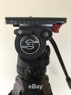 Sachtler FSB-6T Fluid Head MCF Tripod Carbon Fiber Legs, Touch and Go Head