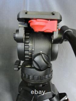Sachtler FSB 6 Fluid Head, Speed Lock 75 Carbon Fiber Tripod, Mid-Level Spreader