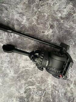 Sachtler FSB 6 Fluid Head with Sideload Camera Plate & Pan Bar MFR # 0407