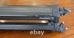 Sachtler Flowtech 75 Carbon Fiber Tripod with Ace XL Head Used