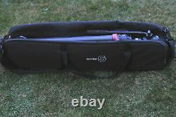 Sachtler Flowtech 75 Carbon Fibre Tripod with Ace XL Head & Sachtler Carry Case