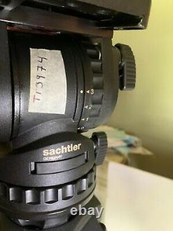 Sachtler Fsb 6 Fluid Head, Speed Lock 75 Carbon Fiber Tripod, Mid-lev Spread, Bag