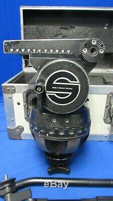 Sachtler Studio 7+7 Tripod Head with 150mm ball, handle, case
