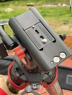 Sachtler System FSB 6 Fluid Head And Flowtech 75 Carbon Fiber