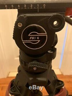 Sachtler System FSB 6 Fluid Head with Sideload Plate, Speed Lock 75 Carbon Fiber
