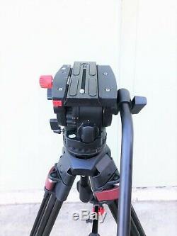 Sachtler System FSB 8 Head / Speed Lock CF tripod use in Good Condition