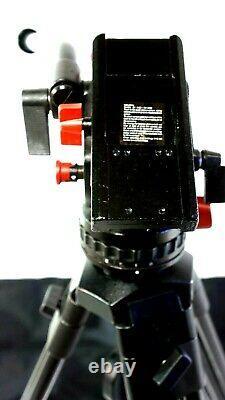 Sachtler VIDEO 14 II HEAD 75mm TRIPOD SYS SP75 BAR NEW PLATE BAG SERVICED 35Lbs