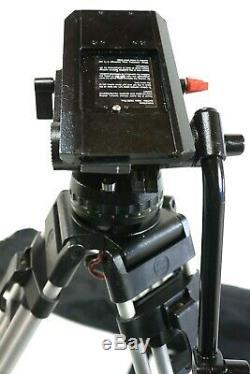 Sachtler VIDEO 18 II FLUID HEAD Tripod 5186 Sys SP100 TBAR PL BAG SERVICED 44Lbs
