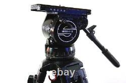 Sachtler VIDEO 18 II HEAD CF CARBON 5382 L 7007 7004 PL TBAR BAG SERVICED 44Lbs