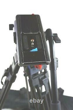 Sachtler VIDEO 18 SB HEAD CF CARBON 5586 SPEEDLOCK SYS TBAR PL BAG SERVICED 40Lb