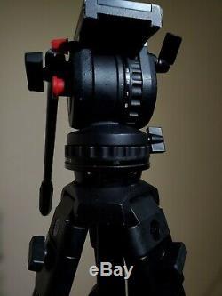 Sachtler Video 14 ll Head + DA 75 L Tripod + Spreader 33 LBS. MAX LOAD