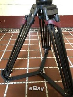 Sachtler Video 15SBFluid Head 100 mm Sachtler Speed Lock CF HD Carbon Fiber Legs